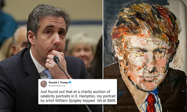 Trump charity's portrait  In Art This Week