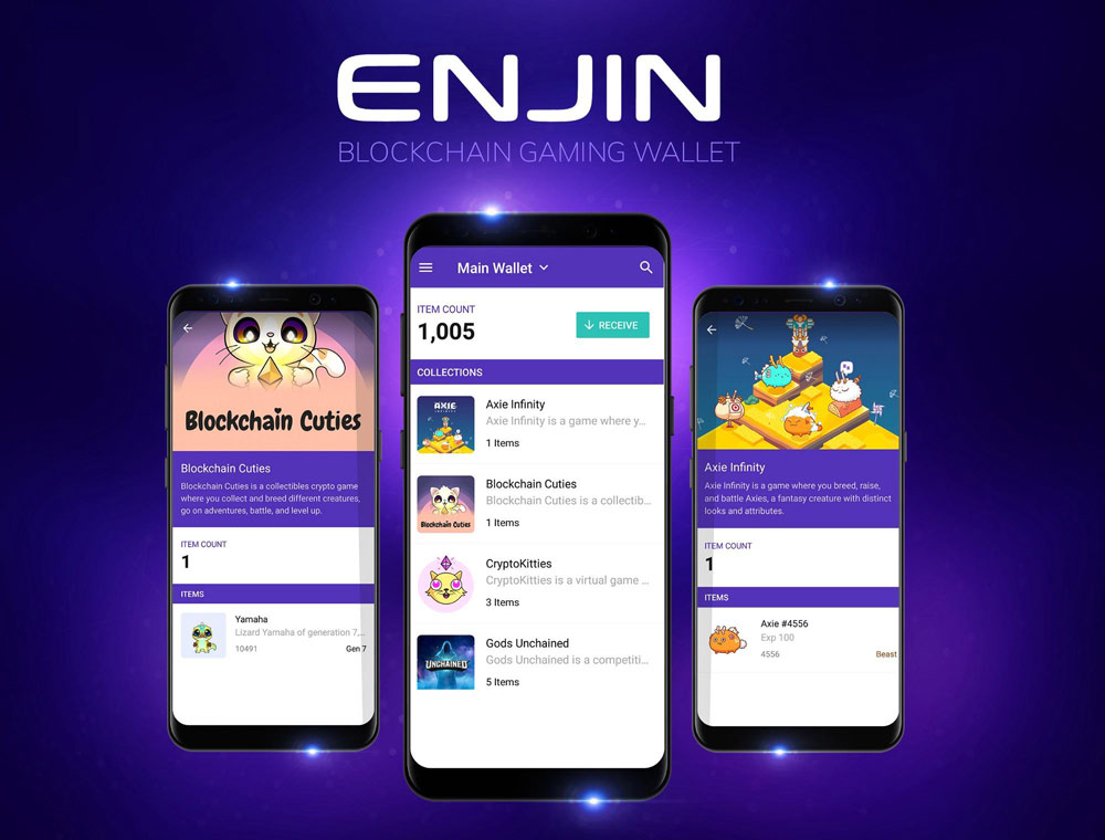 Enjin Wallet - The Top 5 Crypto Wallets To Collect NFT's